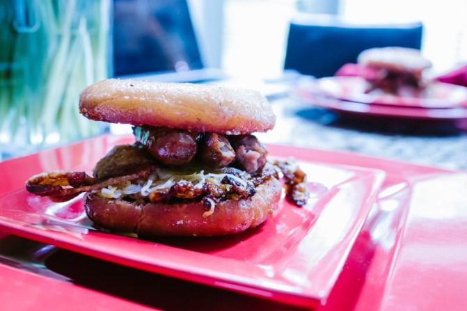 Donut Breakfast Sandwhich-1-2