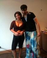 With Maria Shashkova