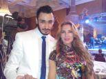 With Samara Hayat