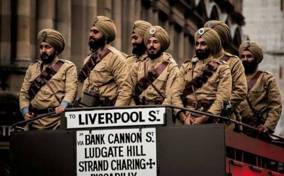 SABAT SURAT British Sikh Soliders #Proud to be A SIKH