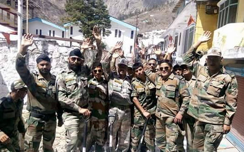 Indian Army Prepares Road For Sri Hemkunt Sahib Yatra