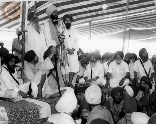 Sant Bhindranwale Before Courting Arrest