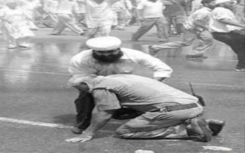 When a Singh Saved a Police Officer's Life During Protests in 1984