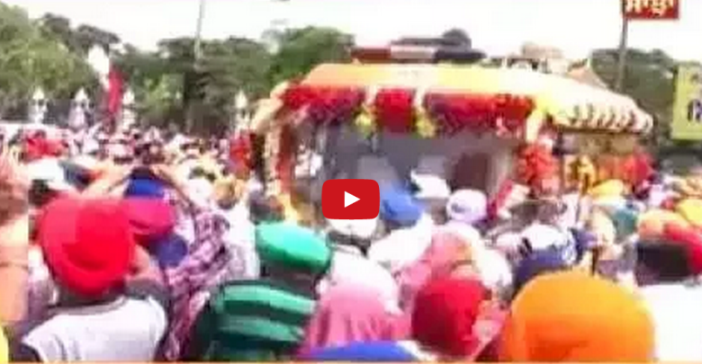 Politics over Sikh Guru's Relics ? - Video