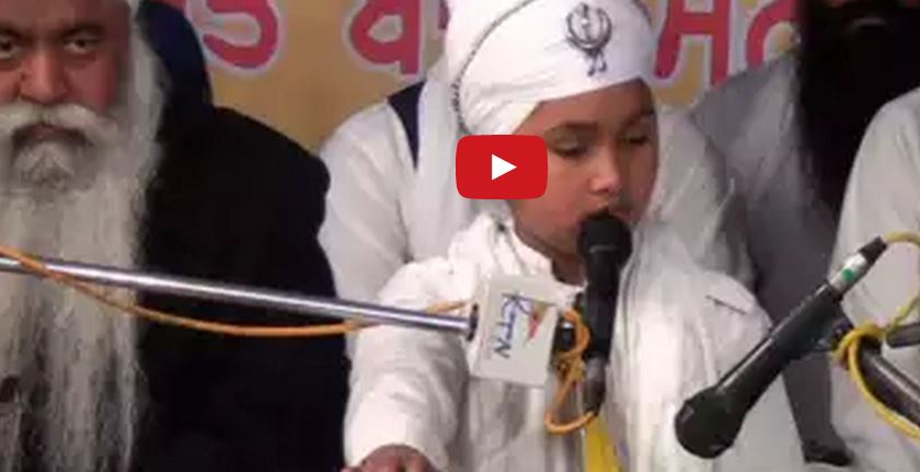 Smallest Age - Sant Baba Parampreet Singh Ji at Salana Samagam Barn Patiala