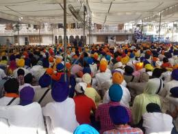 1000s of Sikhs have gathered @ Darbar Sahib to remember the attack 31 years ago 2