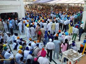 1000s of Sikhs have gathered @ Darbar Sahib to remember the attack 31 years ago. Govt has failed to break Sikh psyche & respect for Akal Takht!