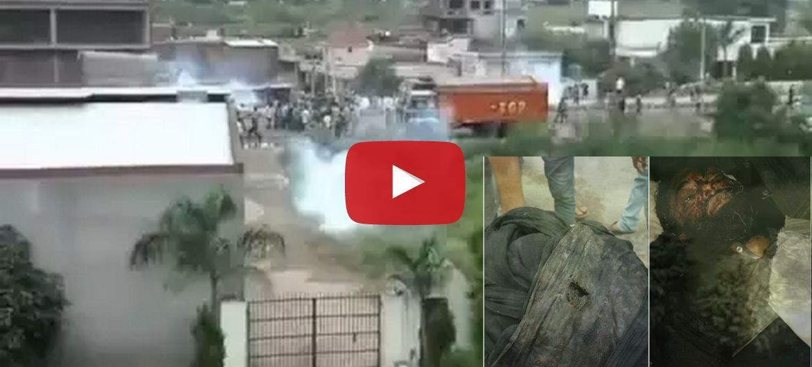 Full Attack Videos - Show How Police Open Fired At Protesters In Jammu - June 05, 2015. khalsa force