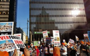 PROTESTS AGAINST BHANGRA PROGRAM IN VANCOUVER