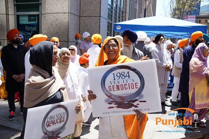 Pictures & Videos London - Thousands of Sikhs march to remember Amritsar temple attack (21)