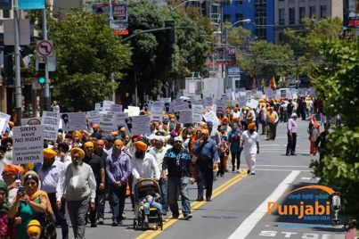 Pictures & Videos London - Thousands of Sikhs march to remember Amritsar temple attack (39)