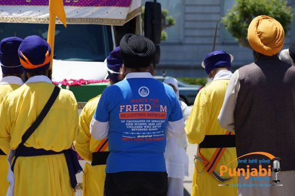 Pictures & Videos London - Thousands of Sikhs march to remember Amritsar temple attack (44)