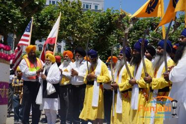 Pictures & Videos London - Thousands of Sikhs march to remember Amritsar temple attack (47)