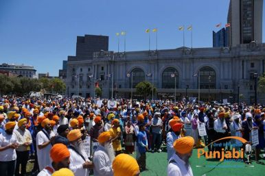 Pictures & Videos London - Thousands of Sikhs march to remember Amritsar temple attack (49)