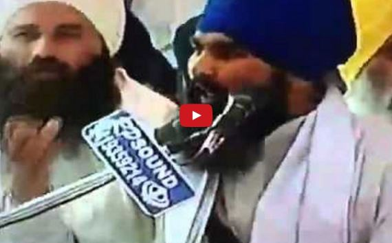 Must Watch Video - Powerful 5 Minute Speech Leaves Tears in Sangat's Eyes during the Antim Ardas of Bhai Jasjit Singh Jammu