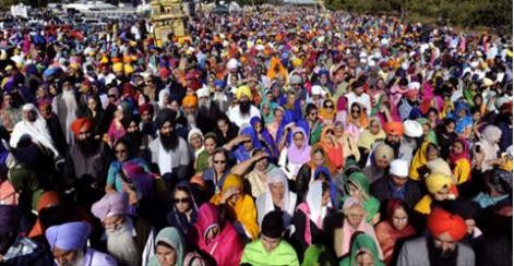 Thousands of Sikhs Call For Action on Anniversary of Sikh Genocide
