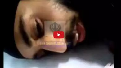 Video - Injured Sikh in Hospital during Jammu Clash firing of rubber bullets but police resorted to 9mm bullets