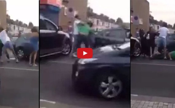 Knockout video Singh & Other Person On Road