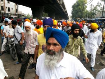 Ludhiana shut down Massive support in support of Bapu Surat Singh 4