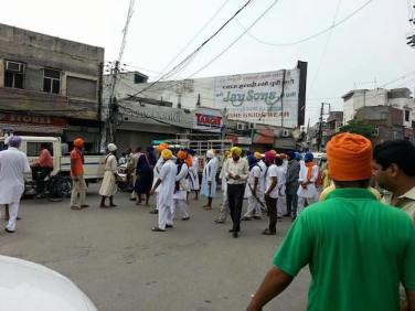 Ludhiana shut down Massive support in support of Bapu Surat Singh 6