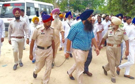 PANJAB GOVERNMENT CONTINUE THEIR BULLYING TACTICS AS BAPU JI'S LIFE EDGES AWAY. read in Punjabi