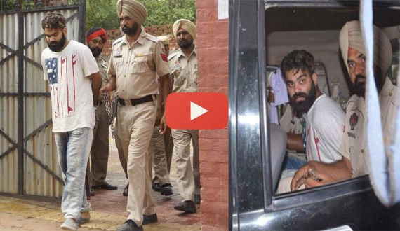 Gangster Jasdeep Singh Jagu was arrested by police after open firing with Batala and Amritsar police near village Boparai. After arrest, Jagu posted on his Facebook profile regarding the arrest.