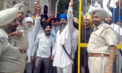 Police Desists Sikhs Holding March Planned from Ajnala to Akal Takht in Support of Bapu Surat Singh Khalsa 11