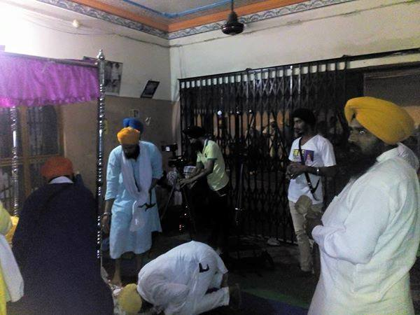 Prakash of Dhan Dhan Sri Guru Granth Sahib Ji Maharaj at the house of Bapu Surat Singh Khalsa in Hassanpur today. 7