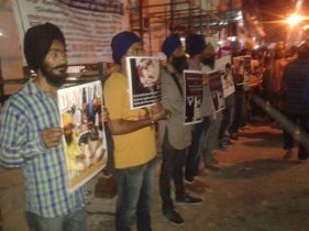 Rally in Delhi in support of Bapu Surat Singh Khalsa and violation of human rights. (1)