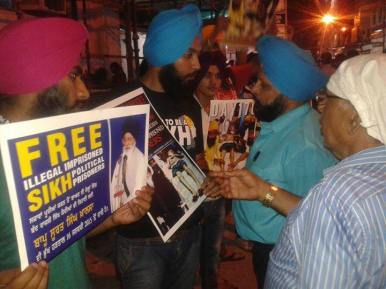 Rally in Delhi in support of Bapu Surat Singh Khalsa and violation of human rights. (4)