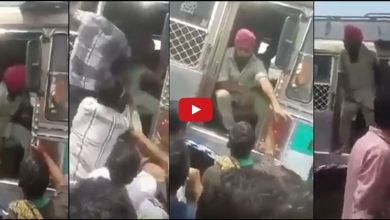 Sikh Truck Driver Defends Himself