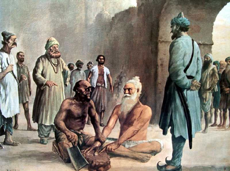 Today is the Day of Martyrdom of Shaheed Bhai Mani Singh