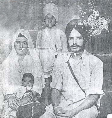 Bhai sahib had one daughter, Amrit Kaur, and two sons called Tejinder Singh and Gurvinder Singh.
