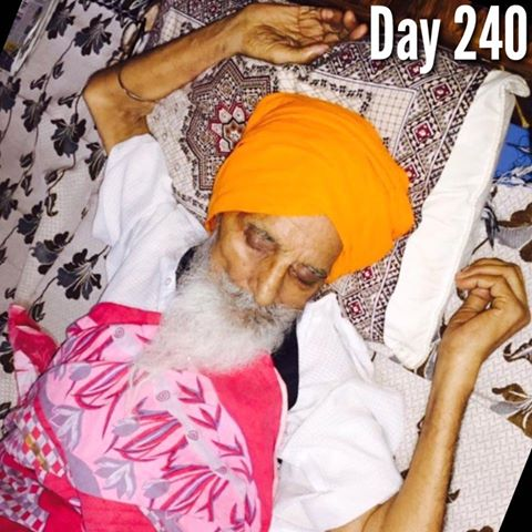Bapu Surat Singh Khalsa's Struggle Has Entered its 240th day