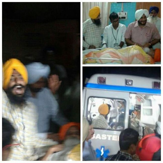 Bapu Surat Singh admitted forcibly at PGI Chandigarh