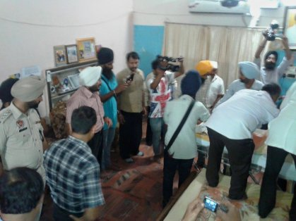 Bapu Surat Singh picked up by police, Shifted to Patiala 5