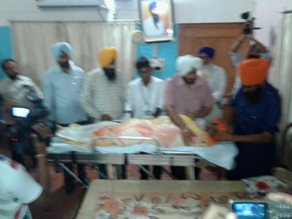 Bapu Surat Singh picked up by police, Shifted to Patiala 6