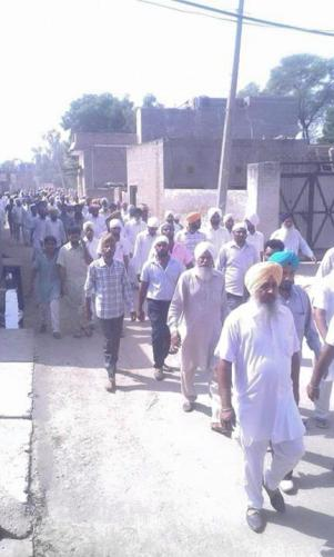 Shaheed Bhai Krishan Bhagwaan Singh funeral is about to take place.