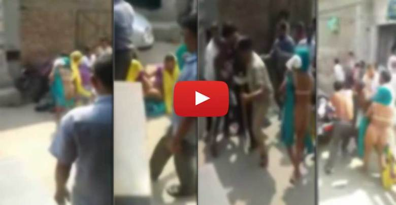 Video - Very Shamefull UP Dalit Family Compelled to Parade Naked