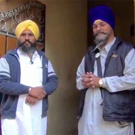 Tera Khalistan Da Bhoot Kad de Han Beaten, Torchered & Humiliated