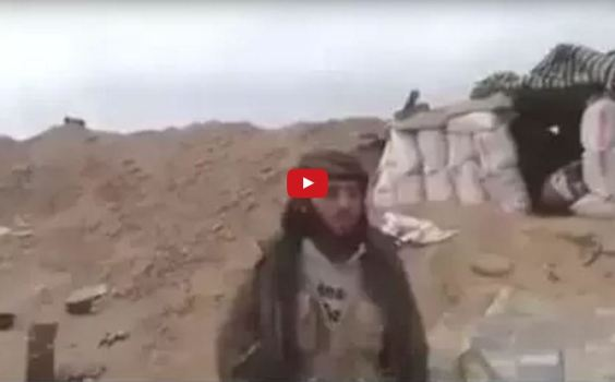 ISIS Viral Video :- Terrorist Killed During Interview | Islamist Jihadi Hit By Mortar Shell Mid-interview