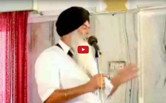 Exposed SGPC and CM Parkash Badal by Baba Pardeep Singh