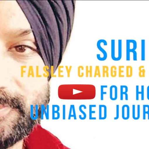 Petition :- Bail for Journalist Surinder Singh of Talking Punjab