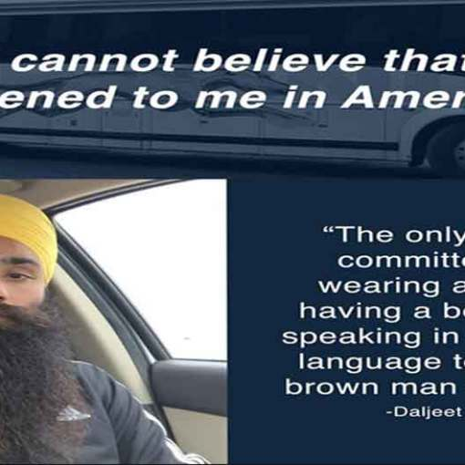 Sikh Man Falsely Accused Of Terrorism On Greyhound Bus