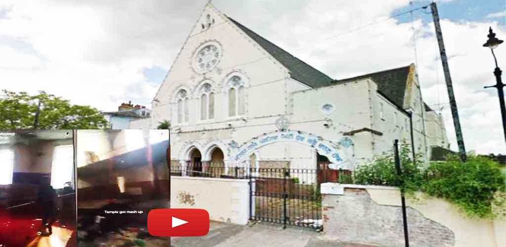 Six Teenagers Have Been Arrested | After Video Shows Youths 'Smashing Up' Former Sikh Temple in Gravesend