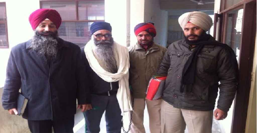 Bhai Harminder Singh Nihang has Been Arrested from Haryana Delhi border by Police.