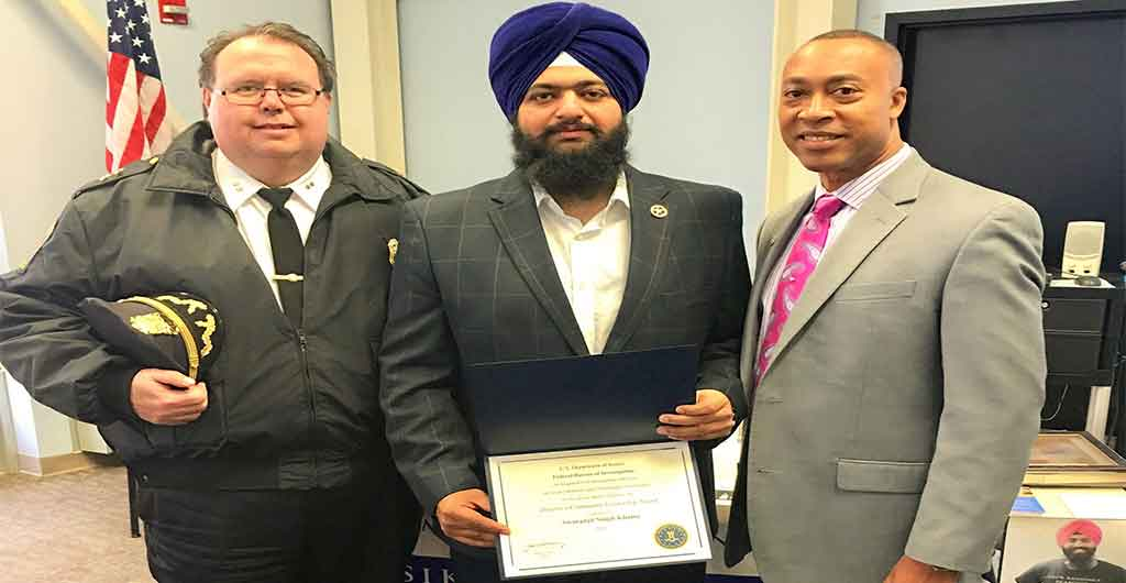 USA | Swaranjit Singh Khalsa | FBI Picks Sikh For Community Leadership Award | President of Sikh Sewak Society International
