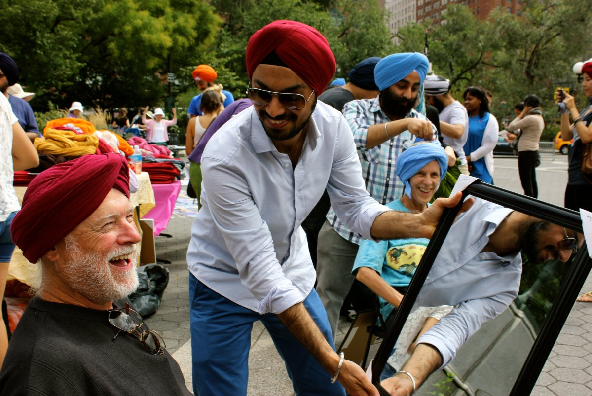 Turban Day Celebrated At Times Square In New York