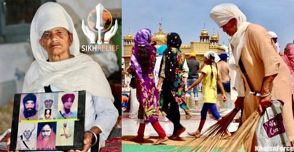 Mata Gurjeet Kaur's Story   Fake Encounter of Husband, 1 Daughter and 4 Son's at the Hands of the Indian Force   Lost Six Members Of Her Family