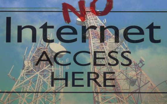 Mobile Internet Data Services Banned